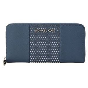 Michael Kors Micro Stud Jet Set Women's Wallet